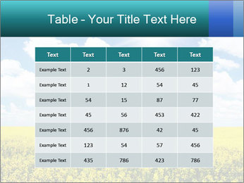 Sunny Sunflower Landscape PowerPoint Templates - Slide 55