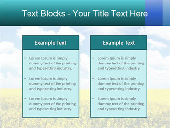Sunny Sunflower Landscape PowerPoint Templates - Slide 57