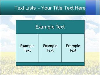 Sunny Sunflower Landscape PowerPoint Templates - Slide 59