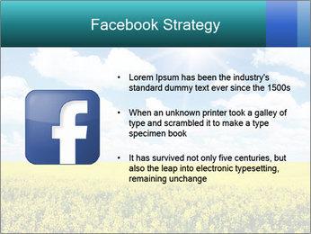 Sunny Sunflower Landscape PowerPoint Templates - Slide 6