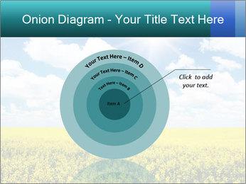 Sunny Sunflower Landscape PowerPoint Templates - Slide 61