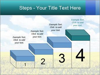 Sunny Sunflower Landscape PowerPoint Templates - Slide 64