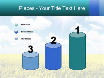 Sunny Sunflower Landscape PowerPoint Templates - Slide 65