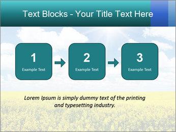 Sunny Sunflower Landscape PowerPoint Templates - Slide 71