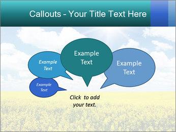 Sunny Sunflower Landscape PowerPoint Templates - Slide 73