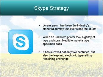 Sunny Sunflower Landscape PowerPoint Templates - Slide 8