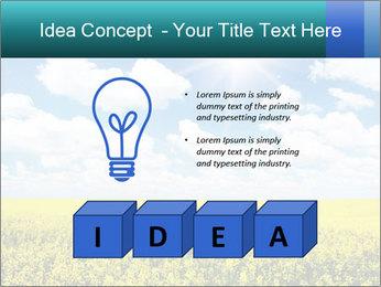 Sunny Sunflower Landscape PowerPoint Templates - Slide 80