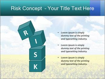 Sunny Sunflower Landscape PowerPoint Templates - Slide 81