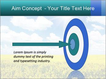 Sunny Sunflower Landscape PowerPoint Templates - Slide 83