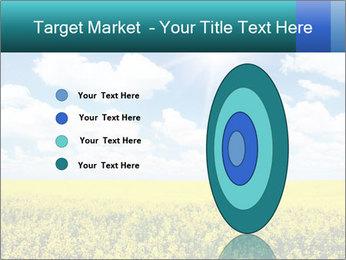 Sunny Sunflower Landscape PowerPoint Templates - Slide 84