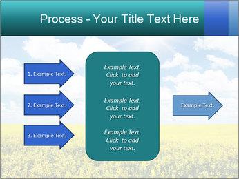 Sunny Sunflower Landscape PowerPoint Templates - Slide 85