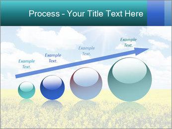 Sunny Sunflower Landscape PowerPoint Templates - Slide 87