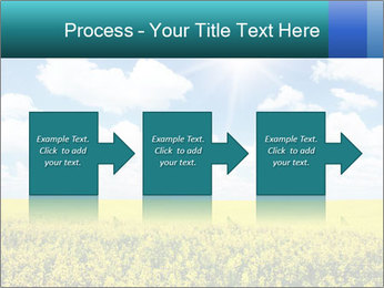 Sunny Sunflower Landscape PowerPoint Templates - Slide 88