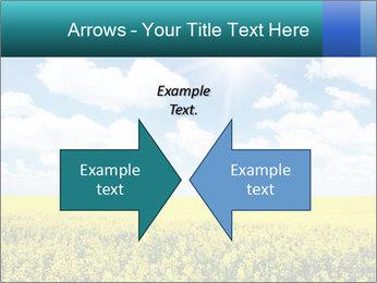 Sunny Sunflower Landscape PowerPoint Templates - Slide 90
