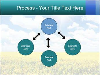 Sunny Sunflower Landscape PowerPoint Templates - Slide 91