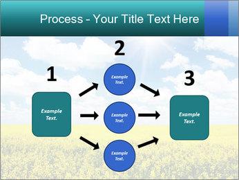 Sunny Sunflower Landscape PowerPoint Templates - Slide 92