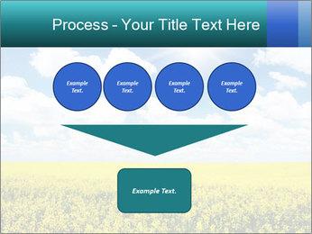 Sunny Sunflower Landscape PowerPoint Templates - Slide 93