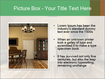 Old-Fashioned Livingroom PowerPoint Templates - Slide 13