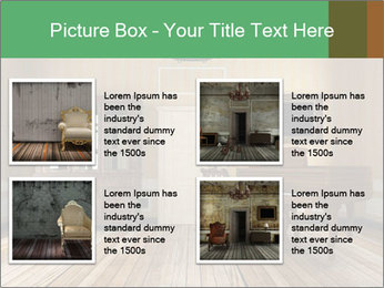 Old-Fashioned Livingroom PowerPoint Templates - Slide 14