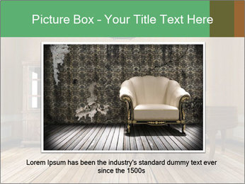 Old-Fashioned Livingroom PowerPoint Templates - Slide 15