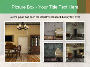 Old-Fashioned Livingroom PowerPoint Templates - Slide 19