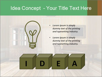 Old-Fashioned Livingroom PowerPoint Templates - Slide 80