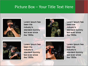 Army Gun PowerPoint Template - Slide 14