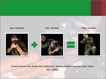 Army Gun PowerPoint Template - Slide 22