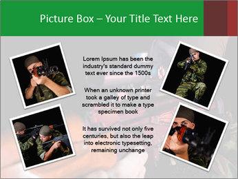 Army Gun PowerPoint Template - Slide 24