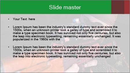 Army Gun PowerPoint Template - Slide 2