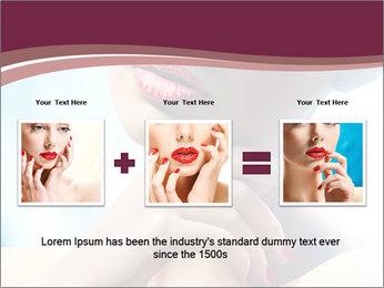 Woman's Pretty Portrait PowerPoint Template - Slide 22