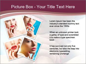 Woman's Pretty Portrait PowerPoint Template - Slide 23