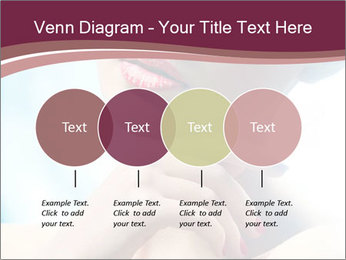 Woman's Pretty Portrait PowerPoint Template - Slide 32