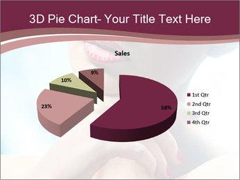 Woman's Pretty Portrait PowerPoint Template - Slide 35