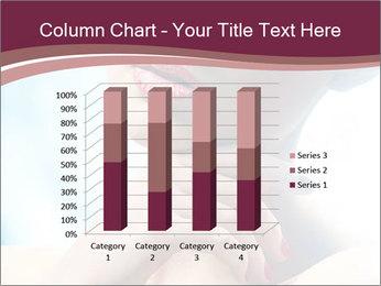 Woman's Pretty Portrait PowerPoint Template - Slide 50