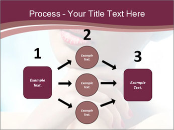 Woman's Pretty Portrait PowerPoint Template - Slide 92