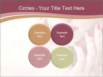 Sweet Woman's Face PowerPoint Template - Slide 38