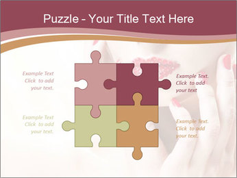 Sweet Woman's Face PowerPoint Template - Slide 43
