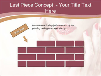 Sweet Woman's Face PowerPoint Template - Slide 46