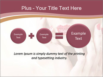 Sweet Woman's Face PowerPoint Template - Slide 75