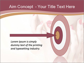 Sweet Woman's Face PowerPoint Template - Slide 83