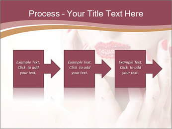 Sweet Woman's Face PowerPoint Template - Slide 88