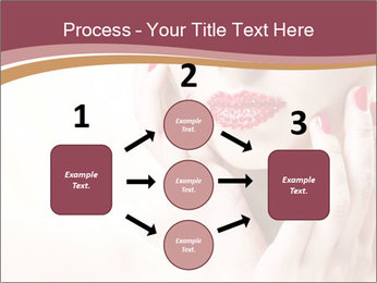 Sweet Woman's Face PowerPoint Template - Slide 92