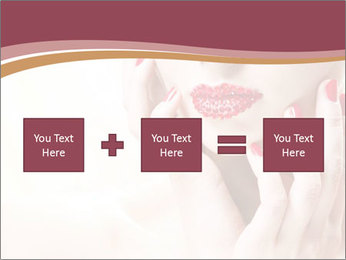 Sweet Woman's Face PowerPoint Template - Slide 95