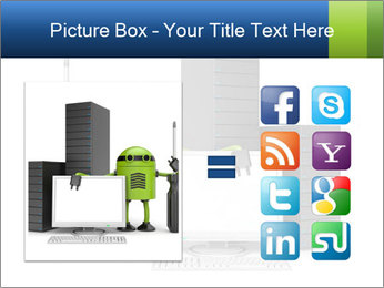 Fix Android Computer PowerPoint Templates - Slide 21
