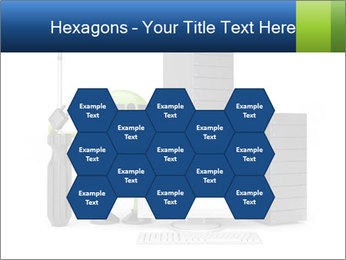 Fix Android Computer PowerPoint Templates - Slide 44