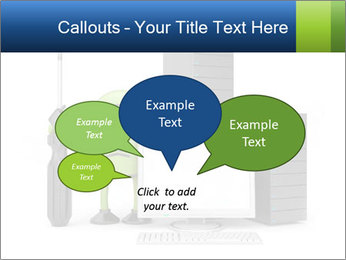 Fix Android Computer PowerPoint Templates - Slide 73