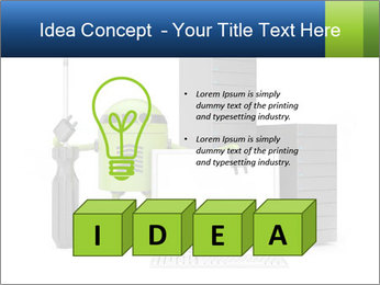 Fix Android Computer PowerPoint Templates - Slide 80