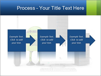 Fix Android Computer PowerPoint Templates - Slide 88