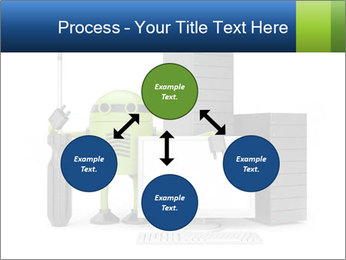 Fix Android Computer PowerPoint Templates - Slide 91